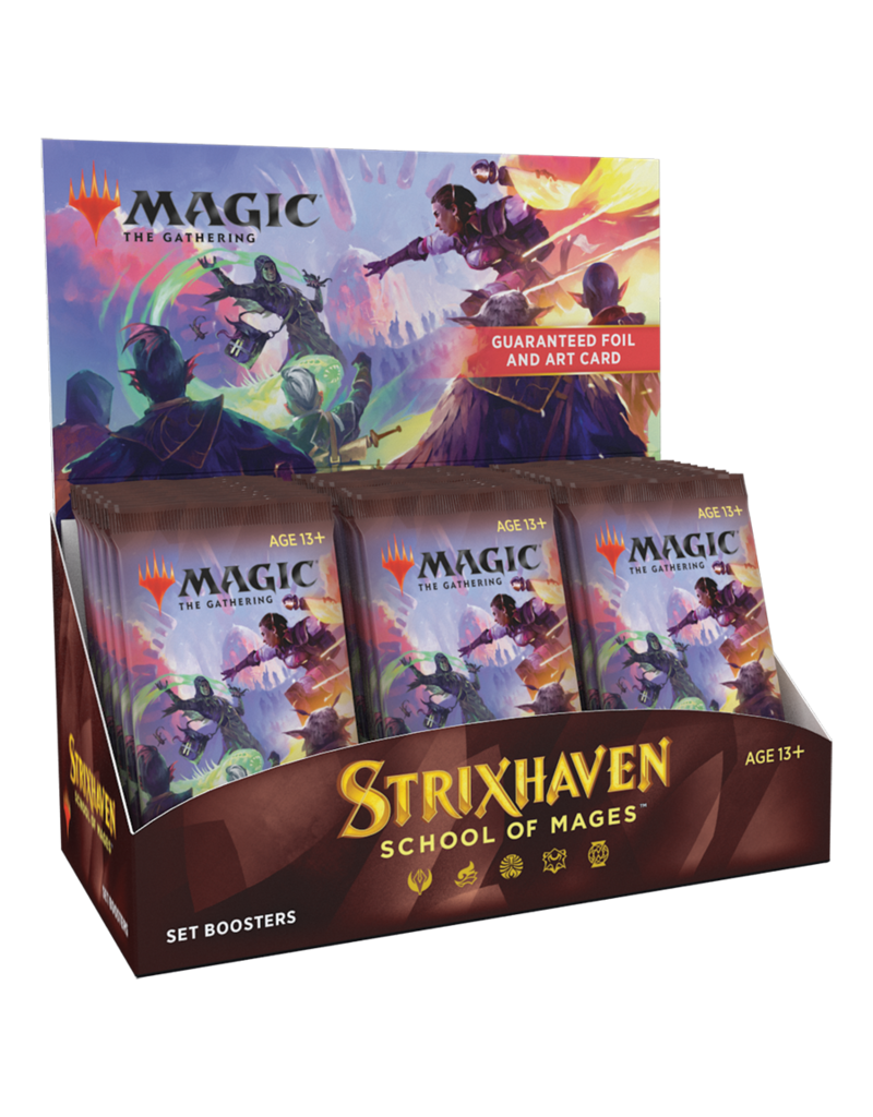 Wizards of the Coast Strixhaven: Set Booster Box