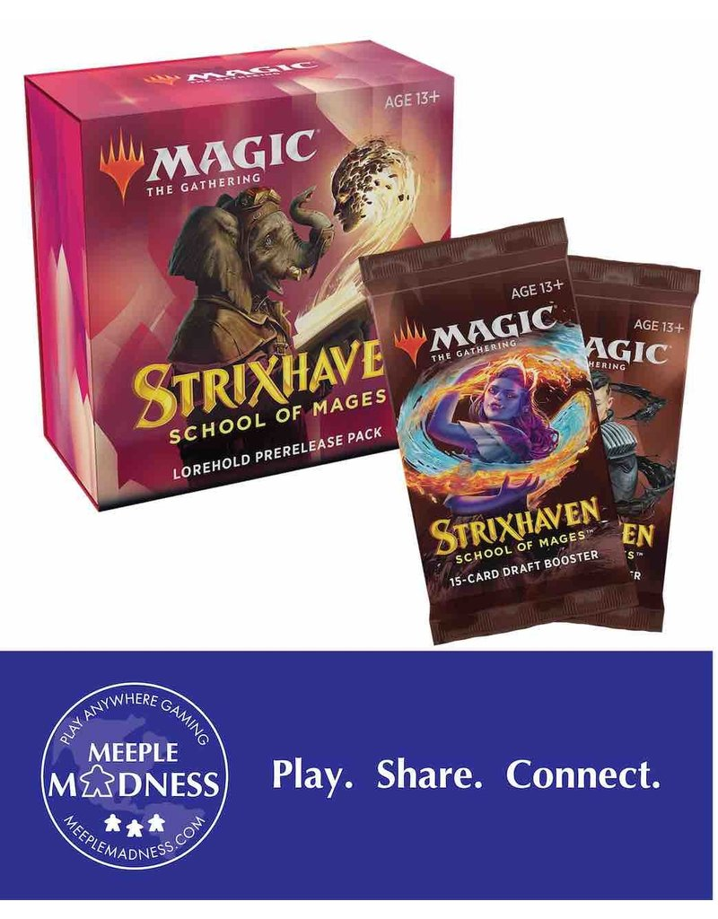 Wizards of the Coast Strixhaven: Lorehold - Remote Prerelease Event (Pre-Order)