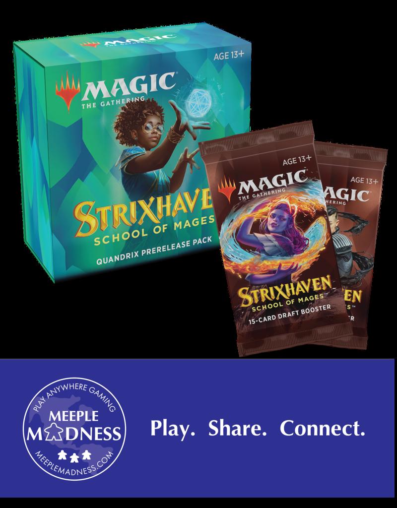 Wizards of the Coast Strixhaven: Quantum Quandrix - Remote Prerelease Event (Pre-Order)