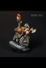 Strata Miniatures Dungeons and Diversity: Dwarf Barbarian