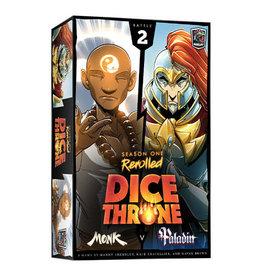 Dice Throne: Monk v Paladin Thief (Season 1 Rerolled)