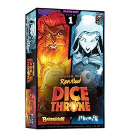 Dice Throne: Barbarian v Moon Elf Thief (Season 1 Rerolled)