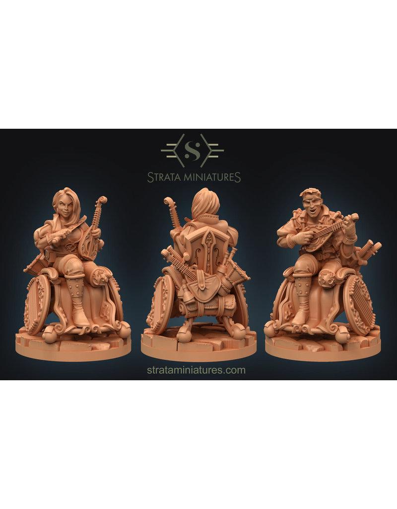 Strata Miniatures Dungeons and Diversity: Human Bard