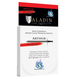 Paladin Board Game Sleeves: Arthur (Mini European)