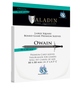 Paladin Board Game Sleeves: Owain (Large Square)