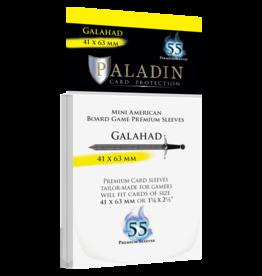 Paladin Board Game Sleeves: Galahad (Mini American)