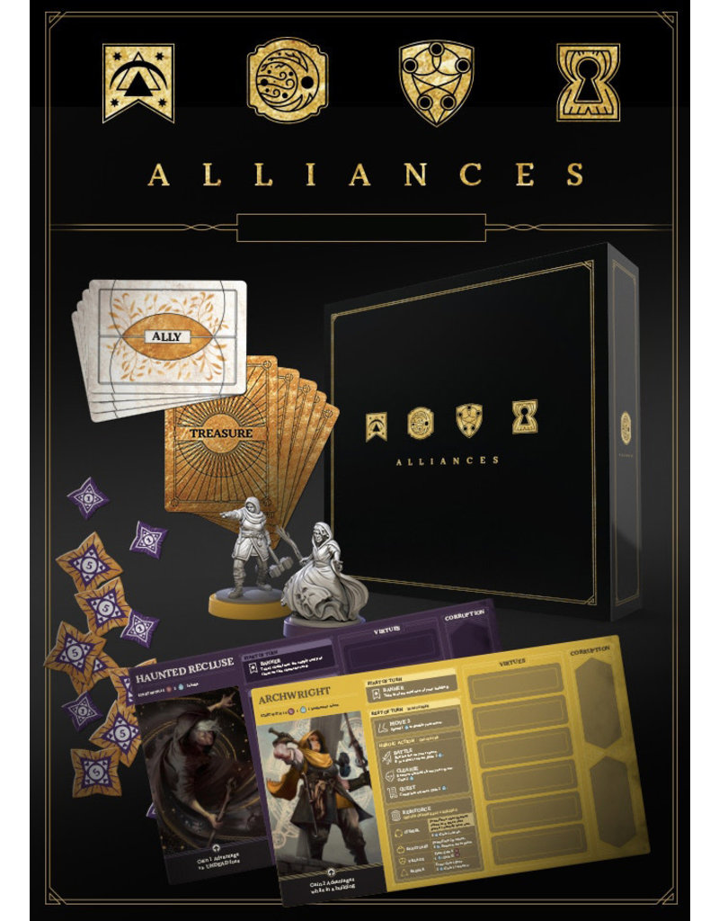 Restoration Games Return to Dark Tower: Alliances (Pre-Order)