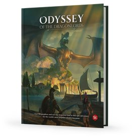 D&D: Odyssey of the Dragonlords - Corebook