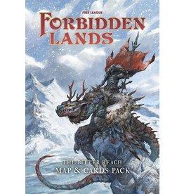 Forbidden Lands: Bitter Reach Map & Cards Pack