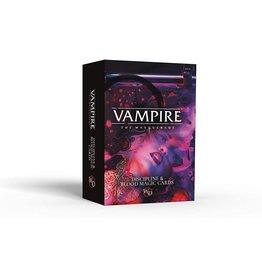 Vampire: The Masquerade (5th Edition) - Discipline & Blood Magic Cards