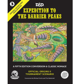 D&D: Original Adventures Reincarnated - Expedition into the Barrier Peaks