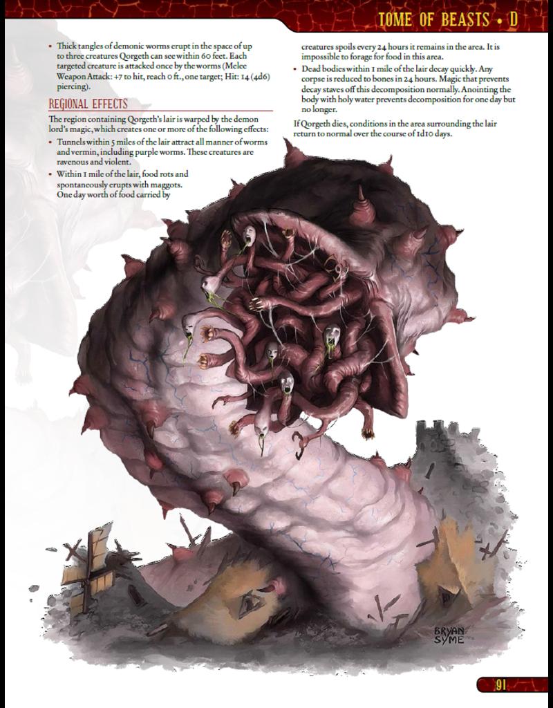 Kobold Press D&D: Tome of Beasts