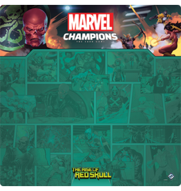 Marvel Champions LCG: Red Skull 1-4 Player Game Mat
