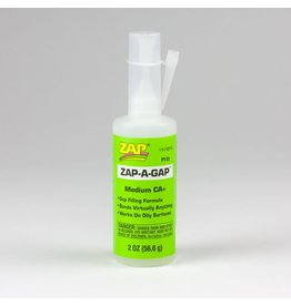 Zap A Gap CA+ SuperGlue (2oz)