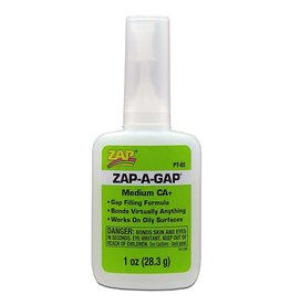 Zap A Gap CA+ Super Glue (1oz)