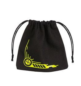 Galactic Black and Yellow Dice Bag