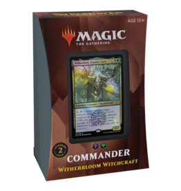 Commander 2021 -  Witherbloom Witchcraft (Open Dueling)