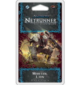 Android Netrunner LCG: Martial Law Data Pack