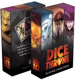 Dice Throne (Poker Sized Playing Cards)
