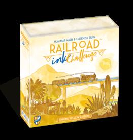 Railroad Ink Challenge: Shining Yellow