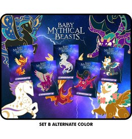 Baby Mythical Beast Pins (Alternate Colors)-
