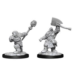 Dwarf Fighter & Dwarf Cleric (90276)