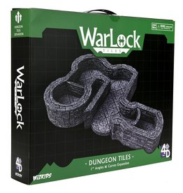 WarLock Tiles: Dungeon Tiles 1'' Angles & Curves