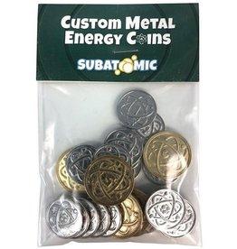 Subatomic - Custom Metal Energy Coins