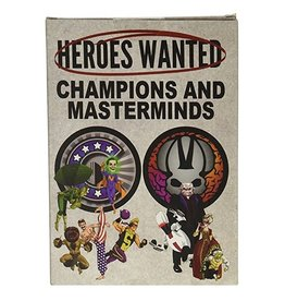 Heroes Wanted: Champions and Masterminds Expansion