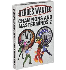 Heroes Wanted: Champions and Masterminds 2