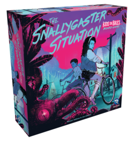The Snallygaster Situation - Kids on Bikes Board Game