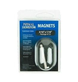 Magnets 3/16 x 1/16 (25)
