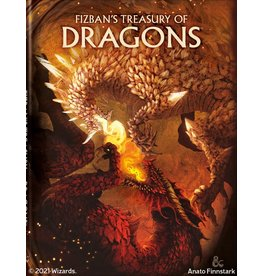 D&D: Fizban's Treasury of Dragons (Hobby Cover) (Pre-Order)