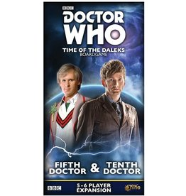 Dr. Who: Time of the Daleks: 5th and 10th Doctor