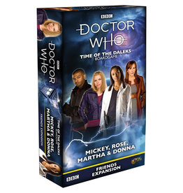Dr. Who: Time of the Daleks: Mickey, Rose, Martha, and Donna
