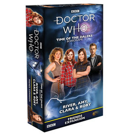 Dr. Who: Time of the Daleks: River, Amy, Clara, and Rory