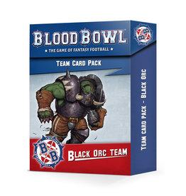 Blood Bowl: Card Pack - Black Orc Team