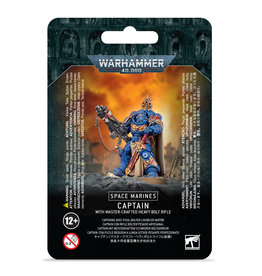 Space Marines: Captain w/ Master-Crafted Bolt Rifle