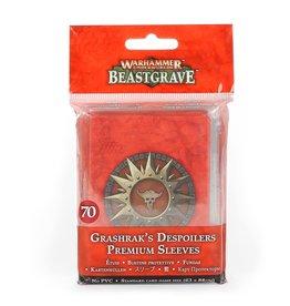 Warhammer Underworlds: Grashrak's Despoilers Premium Sleeves