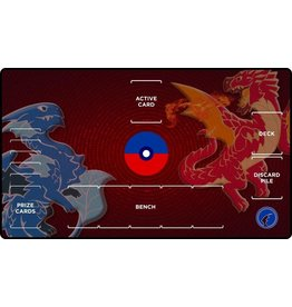 Gamermats: Red and Blue Dragon (Pokemon Zones)