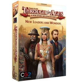 Through the Ages New Leaders & Wonders Expansion