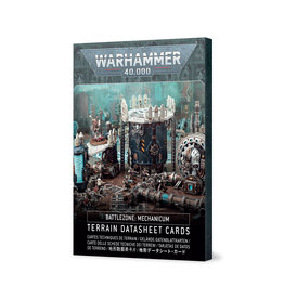 Battlezone: Mechanicum Terrain Cards