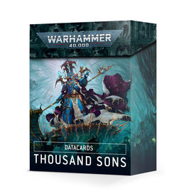 Datacards : Thousand Sons (2021)