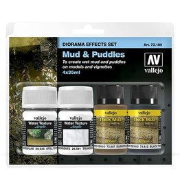 Vallejo Diorama Effects Set: Mud & Puddles