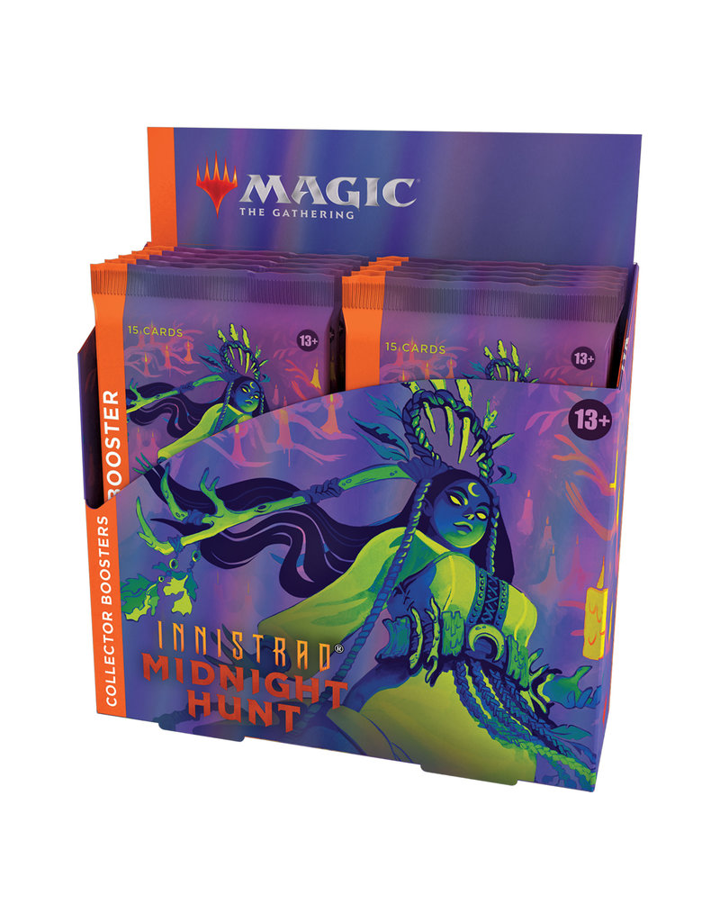 Wizards of the Coast Innistrad: Midnight Hunt Collector Booster Box