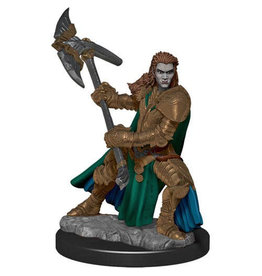 D&D Premium Figure: Female Half-Orc Fighter