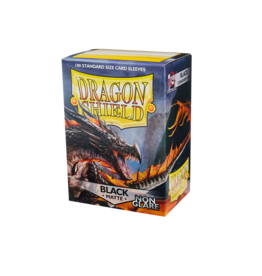 Dragon Shield: Matte Non-Glare - Black