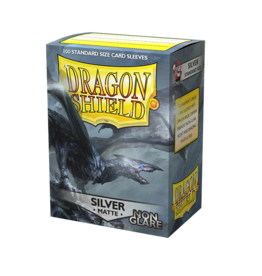 Dragon Shield: Matte Non-Glare - Silver