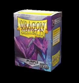Dragon Shield: Matte Non-Glare - Purple