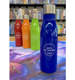 Meeple Madness Stainless Steel Bottle (18 oz) -